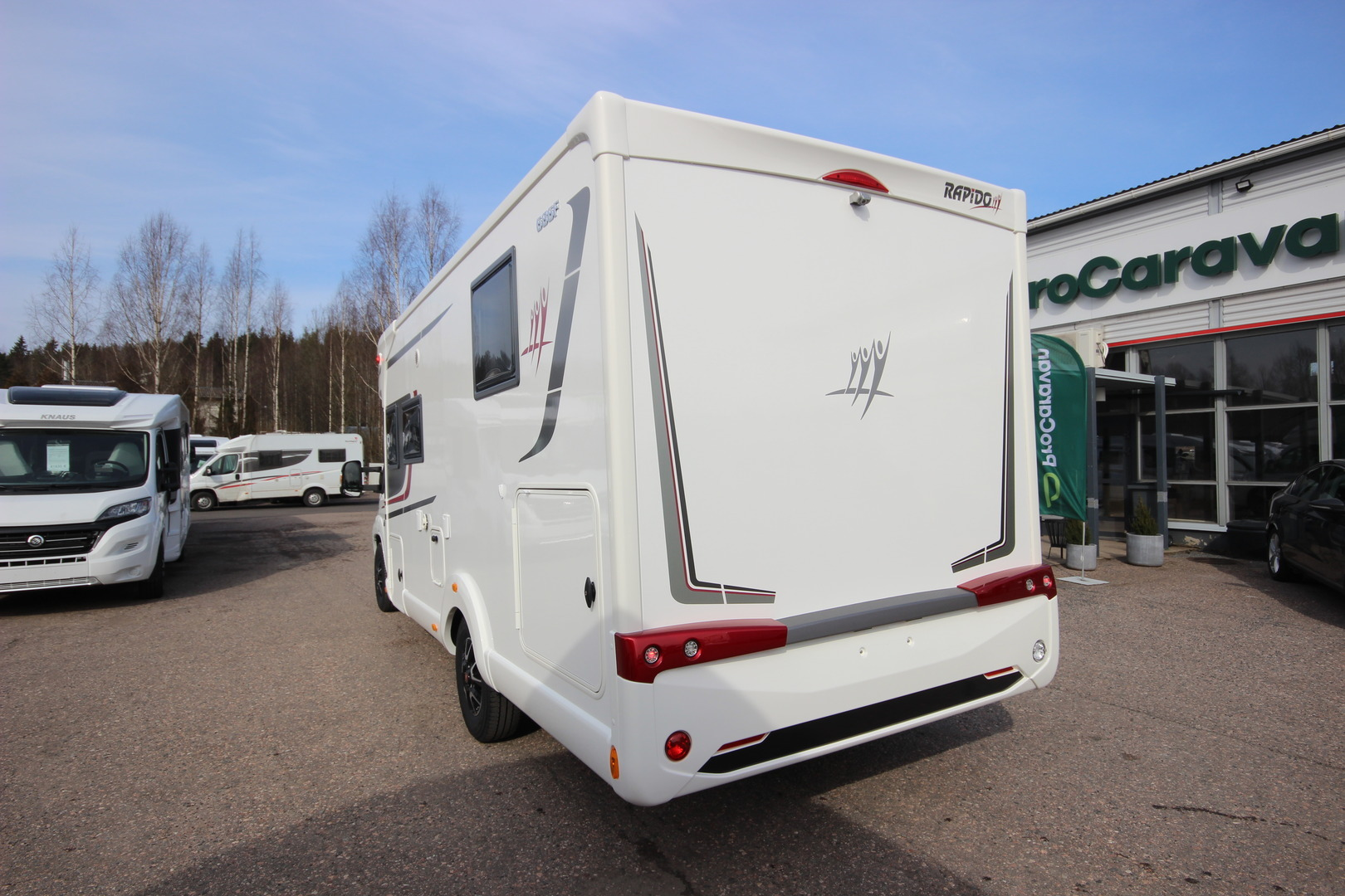 RAPIDO 686F Scandinavian Exclusive TULOSSA, arviolta 15.2